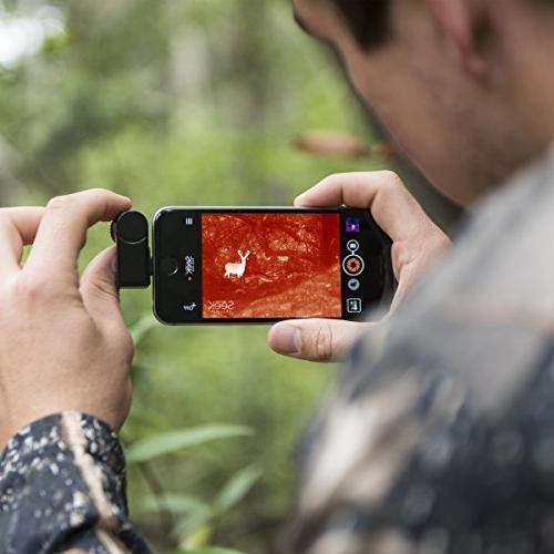 Seek iOS Camera Black