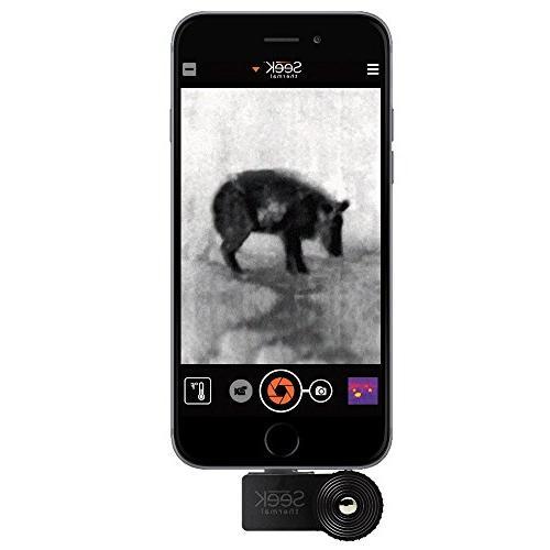 Seek Thermal iOS Camera Black