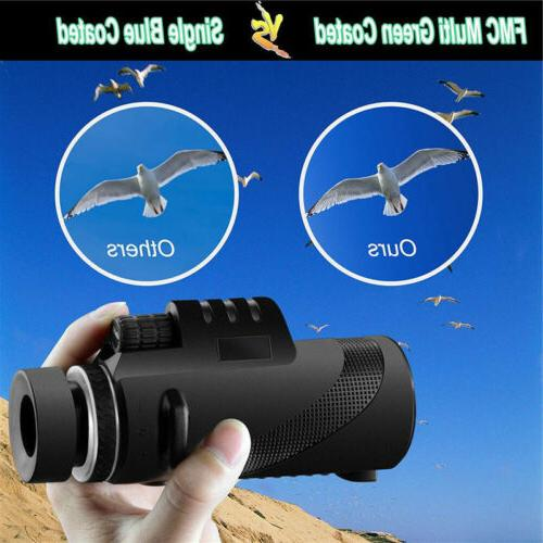 Day 40X60 Power Optical Monocular US