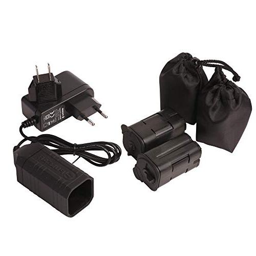 Pulsar DNV Battery Double Pack, Black, Package of