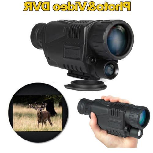 "WG-37 1.44"" Night Vision Binoculars 5x40 Digital"