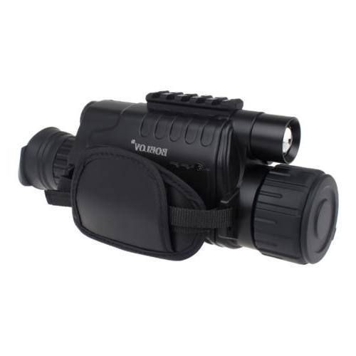 WG-37 Monocular Night Vision 5x40 Infrared