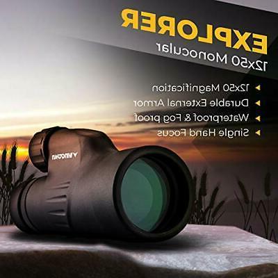 Bright Hand Focus Waterproof Proof 12X50