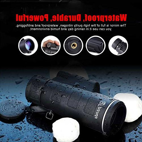 Travel Gadget Animal Seeing Monocular Discovery Camping Outdoor Jungle Learning Bird Seeing Day, Night NTR43
