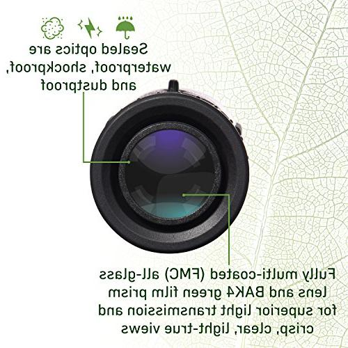 6X30 Grip Definition WIDE VIEW Shock Retractable Eyecup BAK4 Prism Full FMC Optical Glass Free Strap
