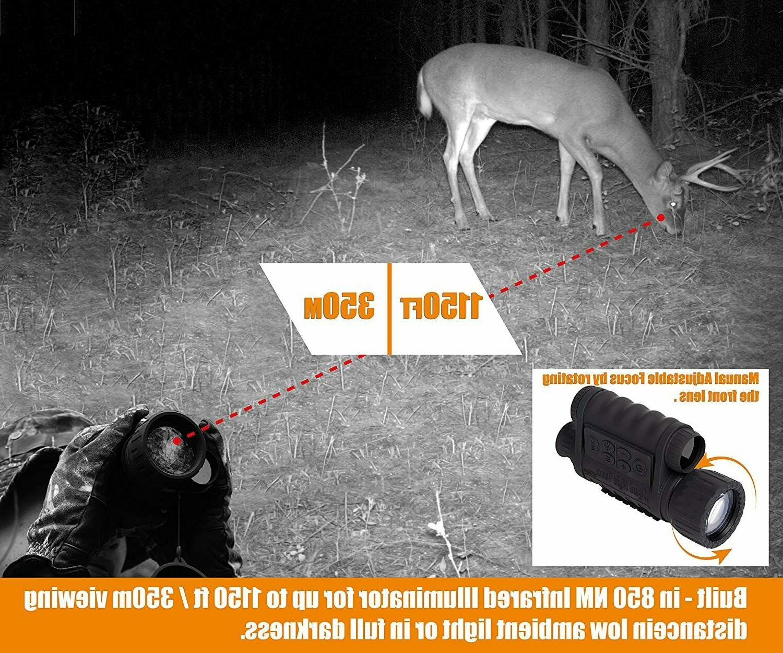 HD 6x50mm 1150 Digital Vision Monocular Camera