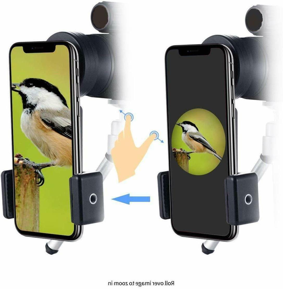 HD Monocular Camera Lense+Tripod Bag Phone
