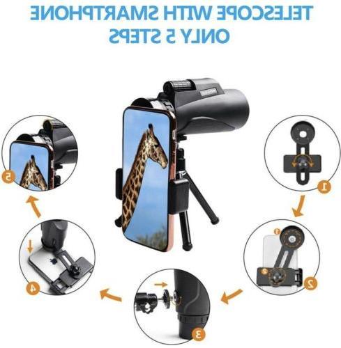 🌟Wehvkei 12x50 Phone Photography Adapter