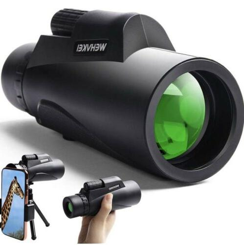 🌟Wehvkei HD Telescope 12x50 Zoom Waterproof Photography Adapter