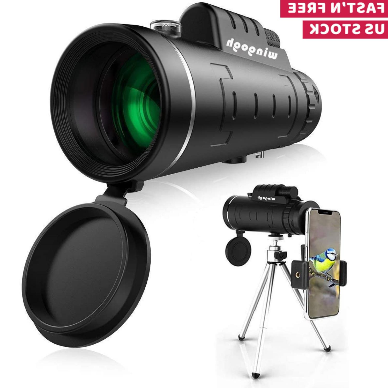 hd monocular telescope phone camera zoom starscope