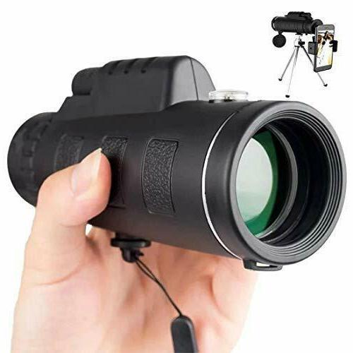HD Monocular Telescope Camera Zoom Starscope Hunting Tripod
