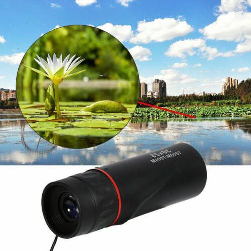 high definition monocular telescope mini portable zoom