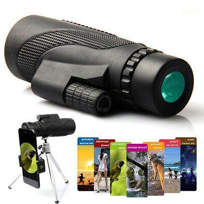 high power monocular telescope for phone waterproof