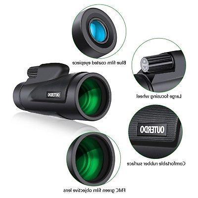 High Power Monocular OUTERDO Dual Focus FMC ...