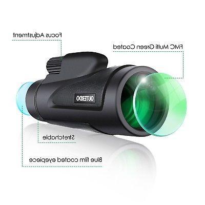 High OUTERDO 12x50 Focus BAK-4 ...