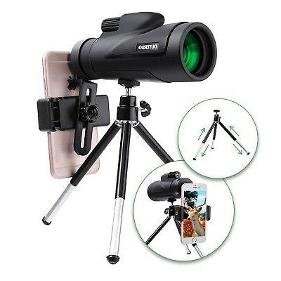 high power monocular telescope new 12x50 dual