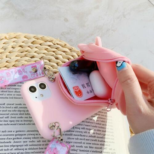 Hot Cute Coin Purse Phone Case For Samsung