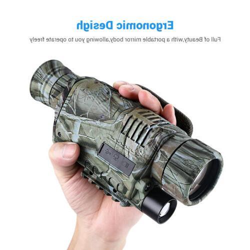 Infrared Night Vision 5X40 Binoculars Scope