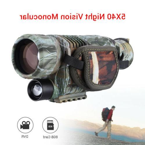 infrared dark night vision 5x40 monocular binoculars