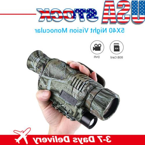 infrared dark night vision monocular