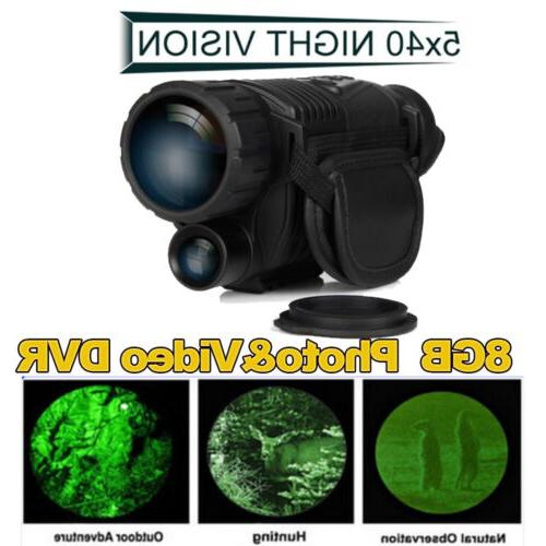 5x40 Infrared Night Monocular 200m