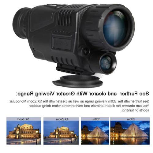 5x40 Monocular Observation