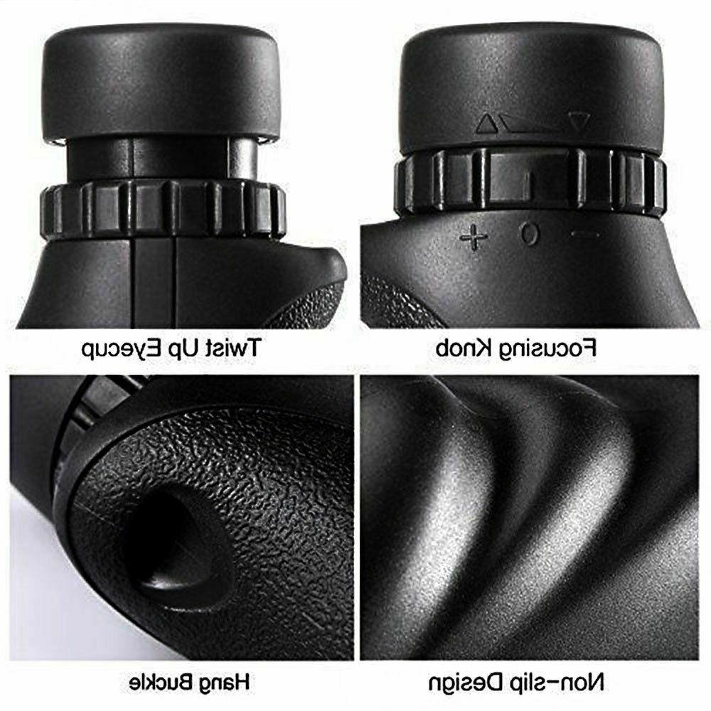 Long Monocular Handed Design Camping Gift HD Tool