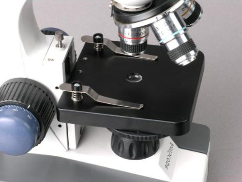 AmScope 40X-1000X All-Metal Framework Full-Glass Lens Compound Microscope Focusing USB Imager
