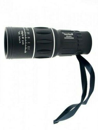 monocular 16x52 optics zoom lens 66m 8000m