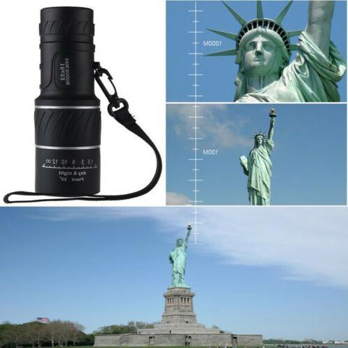 Monocular Lens Camping Hunting Telescope