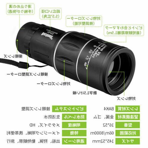 Monocular Lens Telescope Scope