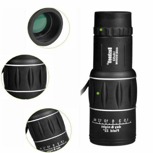 Monocular Zoom Lens Camping Telescope Scope Outdoor