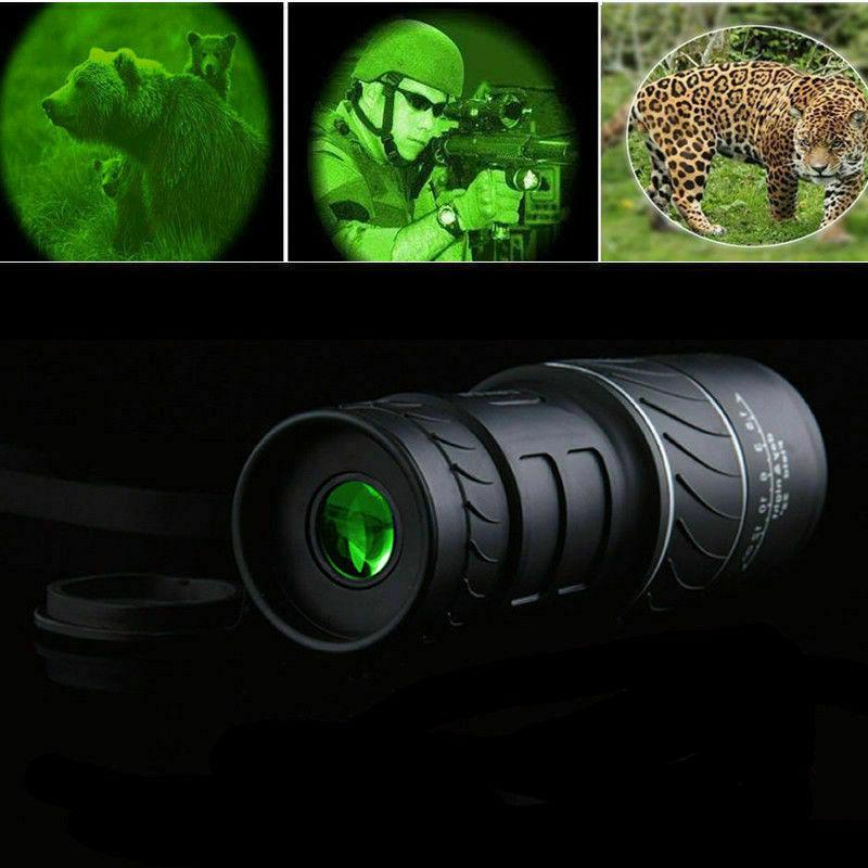 Monocular 40x60 Optics Zoom Lens Hiking Hunting Telescope Scope Outdoor