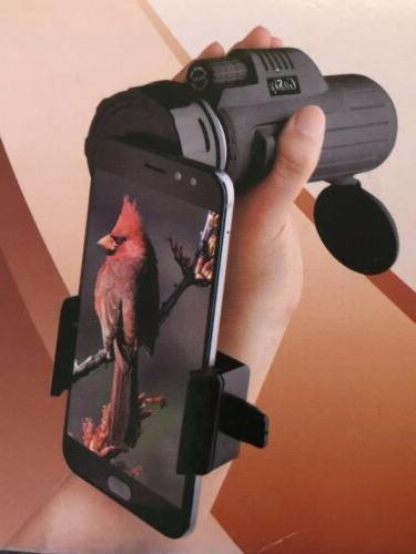 monocular 8x42 phone adapter picture zoom focus