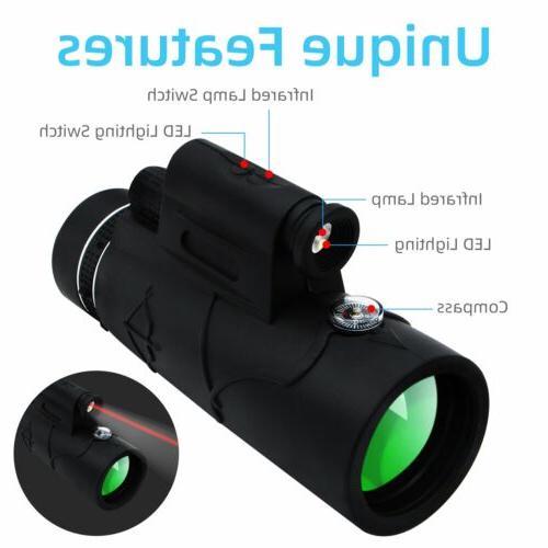 Monocular Phone Zoom Bag Mount