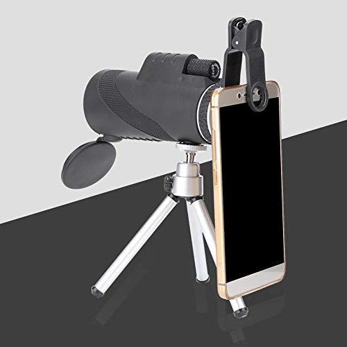 Filfeel Monocular Powered Phone Adapter Waterproof BAK4 Bird