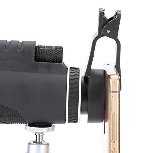 Filfeel Monocular Powered Waterproof Fogproof BAK4 Focus Bird