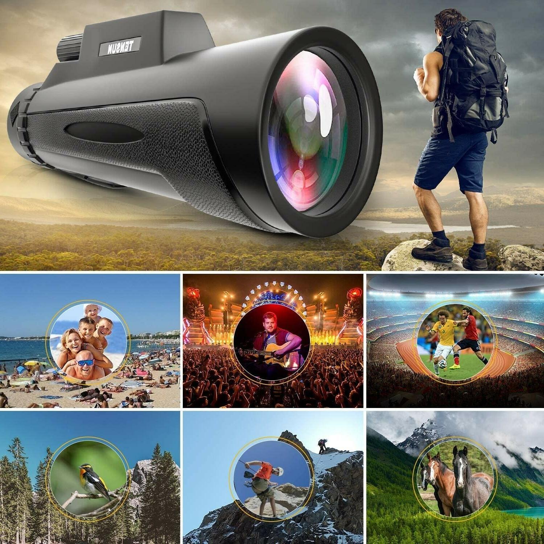 Monocular Telescope, High Power HD Monocular Universal Smartphone