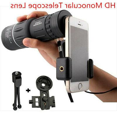 monocular telescope 16x52 hd high power prism