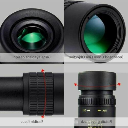 Monocular 10-300x40mm Zoom Pocket Binocular Telephoto