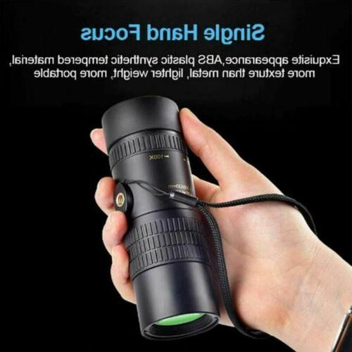 Monocular Telescope 10-300x40mm Zoom Pocket Telephoto US