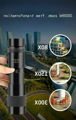 Monocular Telescope 4K Zoom Pocket Binocular Telephoto
