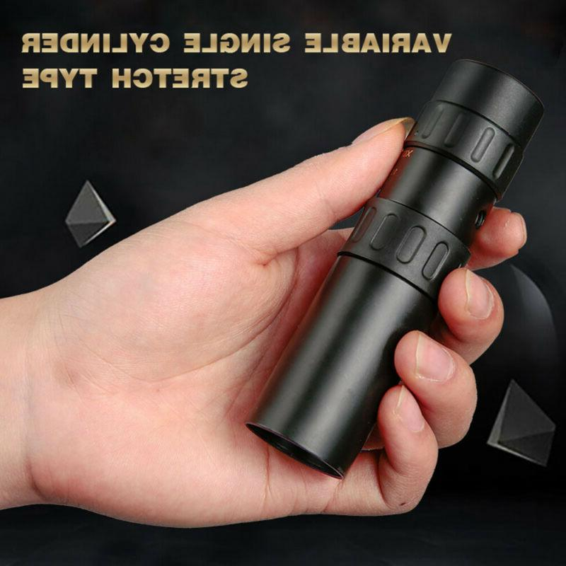 Monocular 4K 10-300x40mm Zoom Pocket Binocular Telephoto