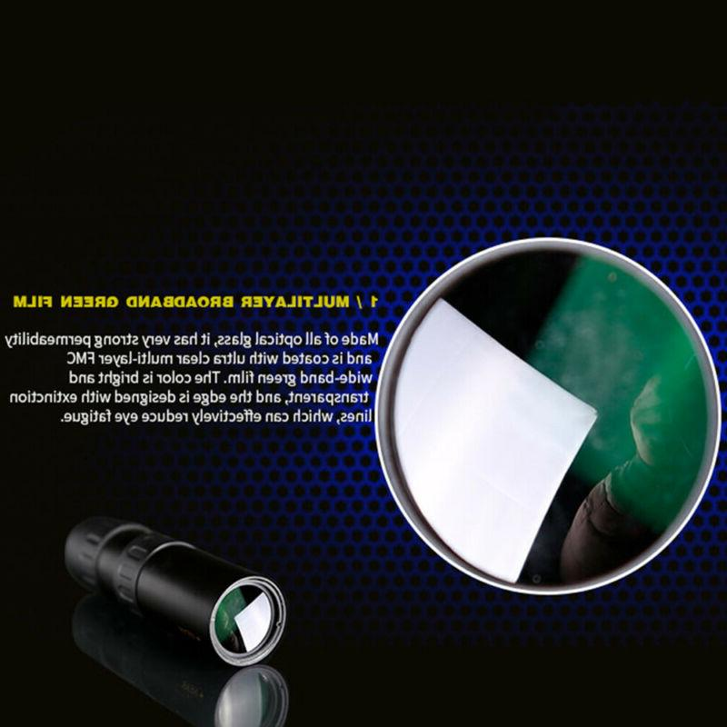 Monocular 10-300x40mm Zoom Pocket Super Telephoto