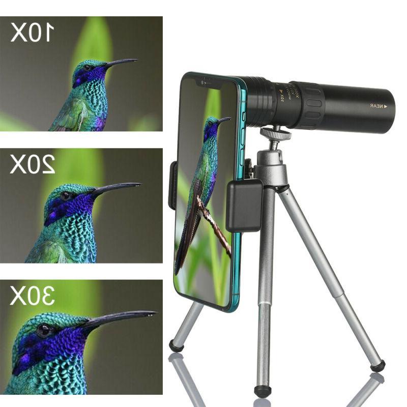 monocular telescope 4k 10 300x40mm zoom pocket