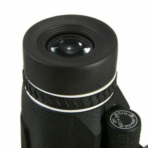Monocular Telescope 80x100 BAK4 Prism HD Tripod