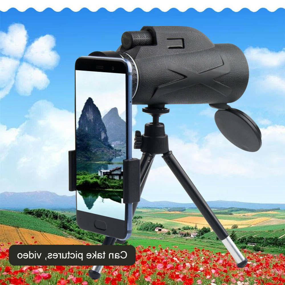 Monocular Telescope 80X100 Waterproof Zoom High Quality With