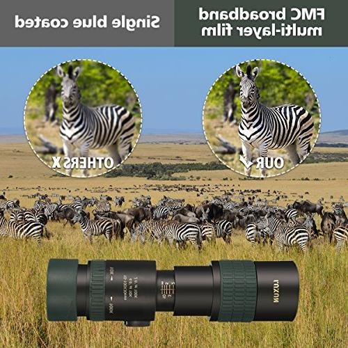 OUTERDO Dual Focus Hunting Surveillance Bird-watching Prism Scope with Tripod and Cellphone Waterproof Bright