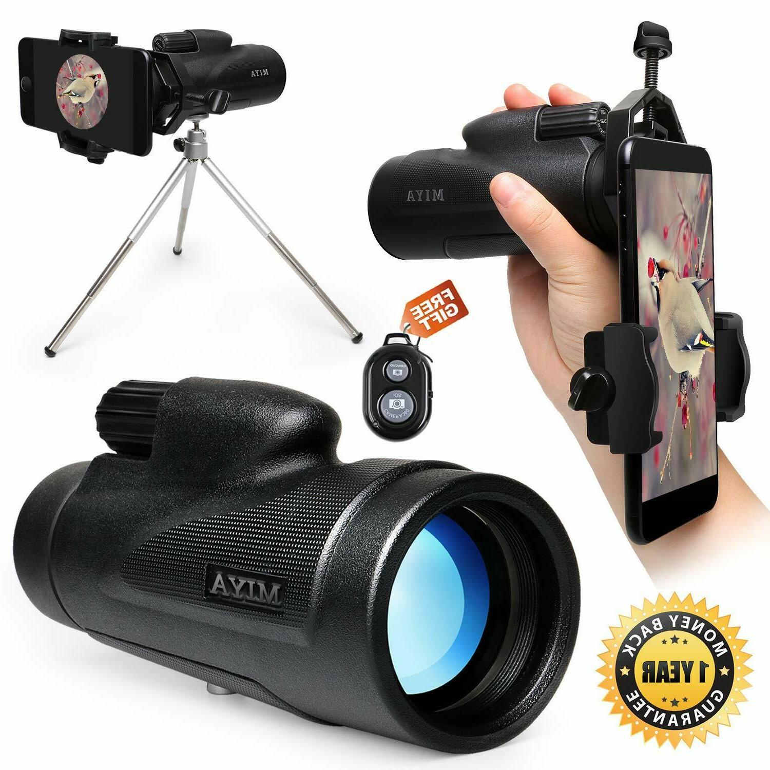 Monocular Telescope High Power,12X50 HD Dual Focus Monocular