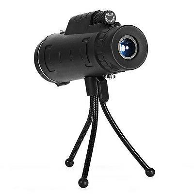 HOT! 40X60 40X Monocular Telescope BAK4Prism Scope + Tripod
